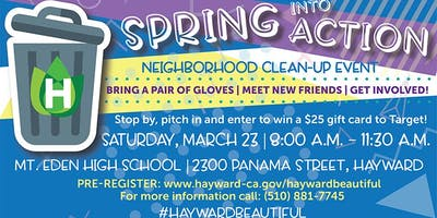 Glen Eden Neighborhood Clean-up Event