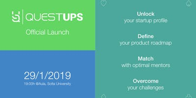Questups 1.0: Startup Profiled, Mentor Matched, Quest Completed