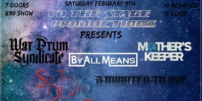 War Drum Syndicate,By All Means,Mothers Keeper & More