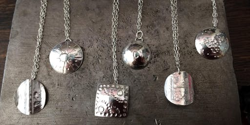 Silver Earring or Pendant Making