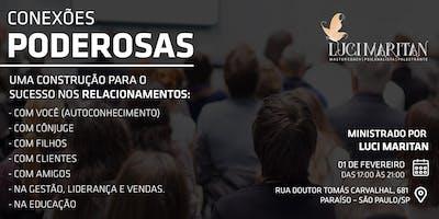 Workshop – Uma construção para o sucesso nos relacionamentos.