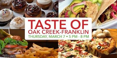 Taste of Oak Creek-Franklin