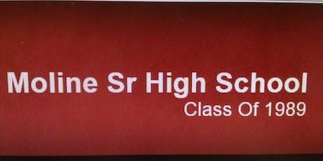 Moline High School Class of 1989 30 Year Class Reunion Event tickets