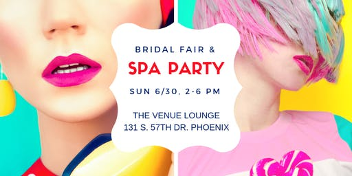 3rd Annual Bridal Spa Party