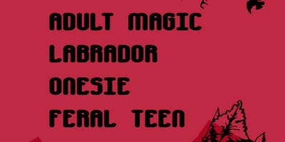 Adult Magic, Labrador, Onesie, Feral Teen
