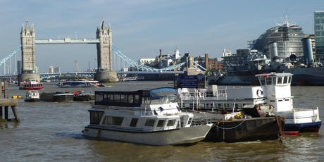 Keeping up with the Tides: The Thames in the City and its changing history tickets