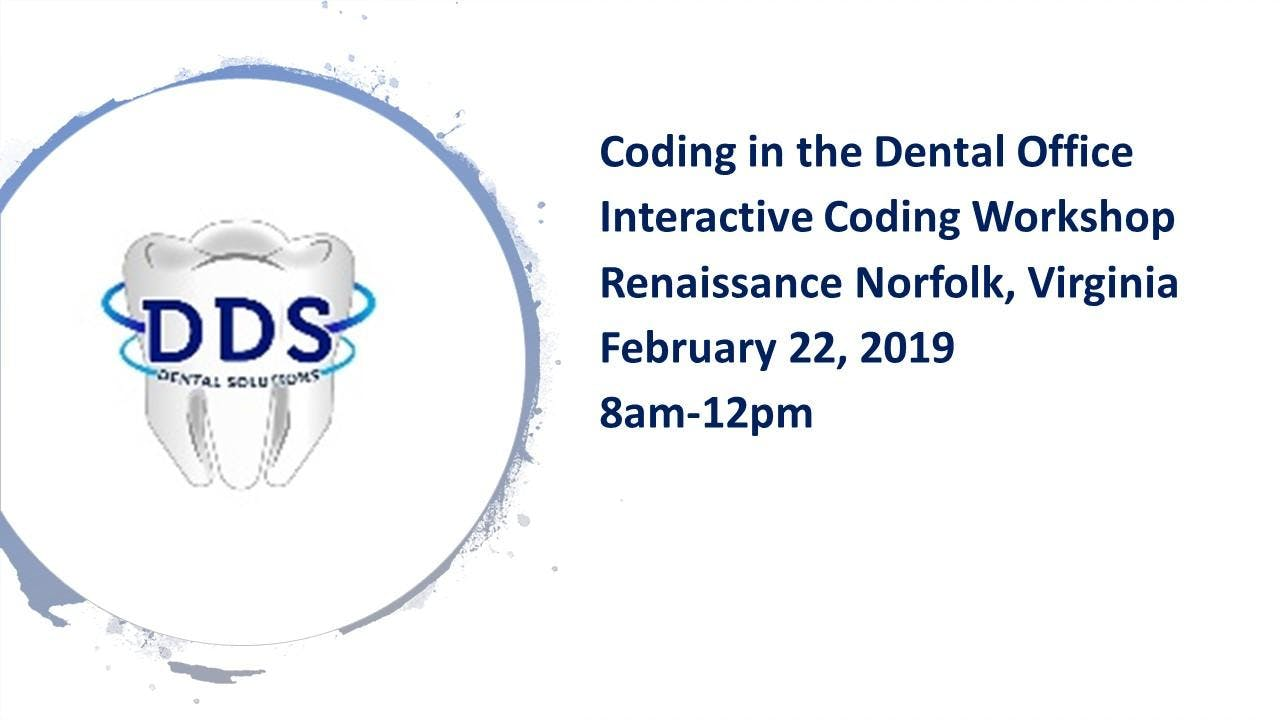 Coding in the Dental Office Interactive Codin