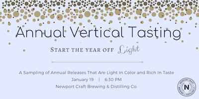 Annual Vertical Tasting