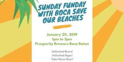Sunday Funday with Boca Save our Beaches