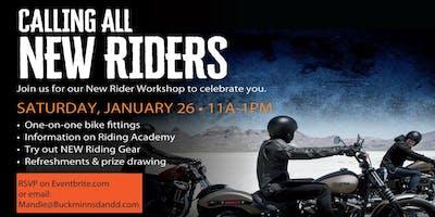 New Rider Workshop