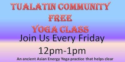 Tualatin Energy Healing Center Community YOGA