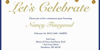 Retirement Party Honoring Nancy Finegood