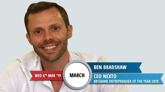 WED 6th MAR 19, Brisbane Entrepreneur of 20