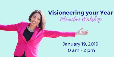 Visioneering Your Year Vision Board Workshop