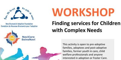 Finding services for Children with Complex Needs