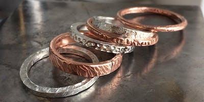 Silver Stack Ring Workshop