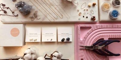 Jewellery Making Workshop w Hailey Jane ✧