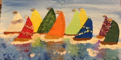 Rock it with Resin! Sailboats