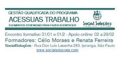 GESTÃO QUALIFICADA DO PROGRAMA ACESSUAS