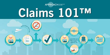 Claims 101 - Southcenter tickets