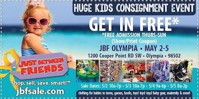 JBF Olympia General Admission (FREE)