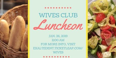Wives Club Luncheon