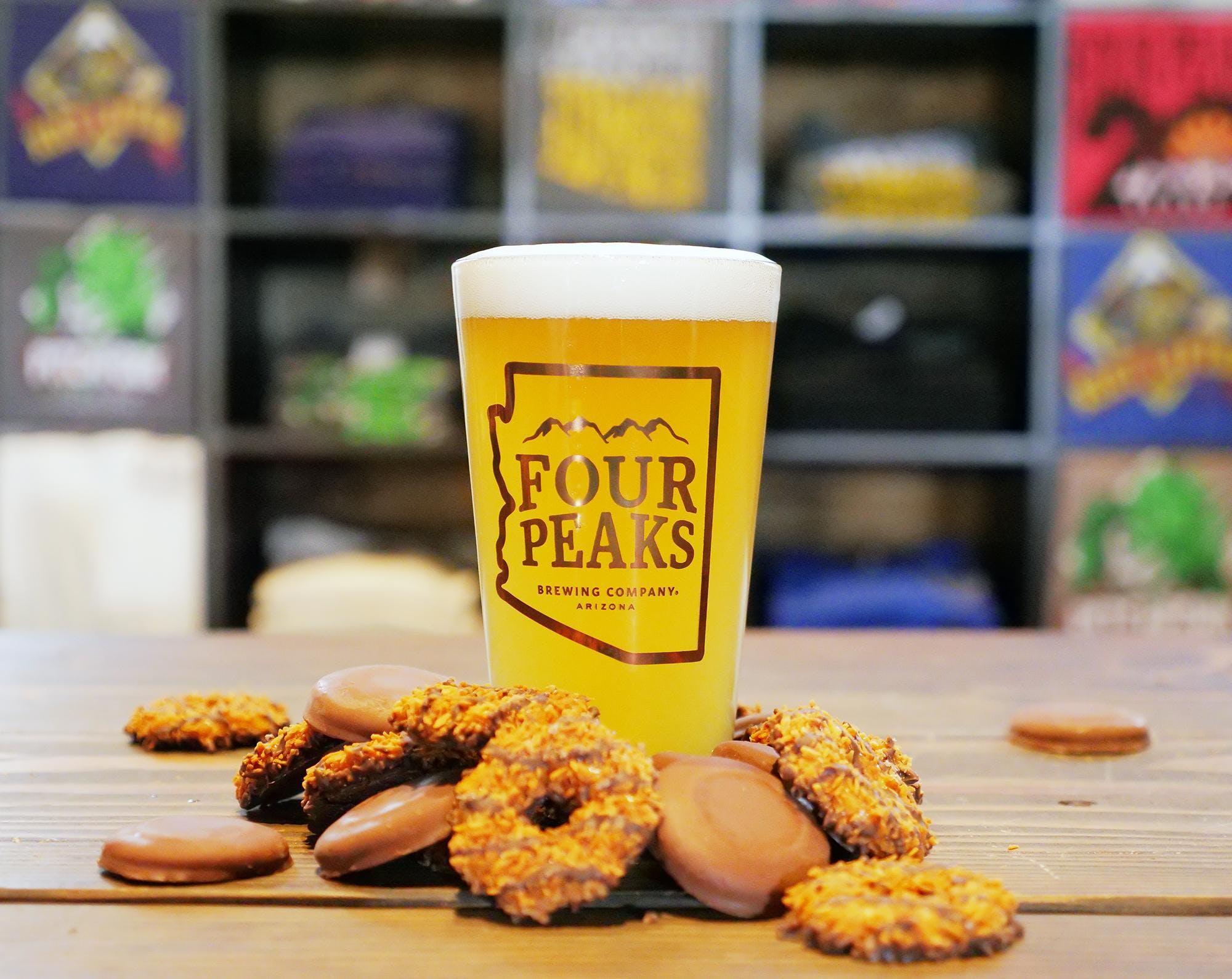 Girl Scout Cookie & Beer Pairing - Wilson Tasting Room