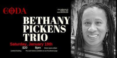 Bethany Pickens Trio at Cafe Coda