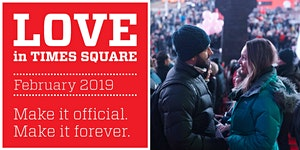 Love in Times Square 2019: Annual Vow Renewal Ceremony