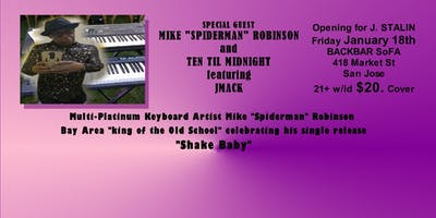 """Mike """"Spiderman"""" Robinson featuring JMAC"""