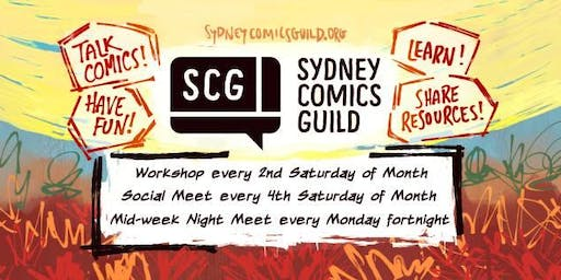 Sydney Comics Guild Social Meet Ups