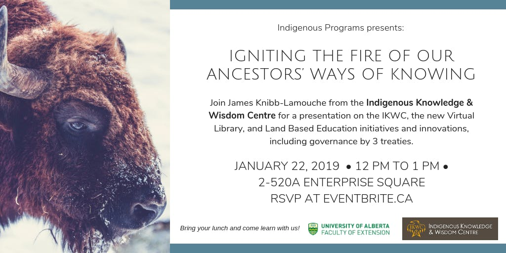 Igniting the Fire of Our Ancestors' Ways of Knowing