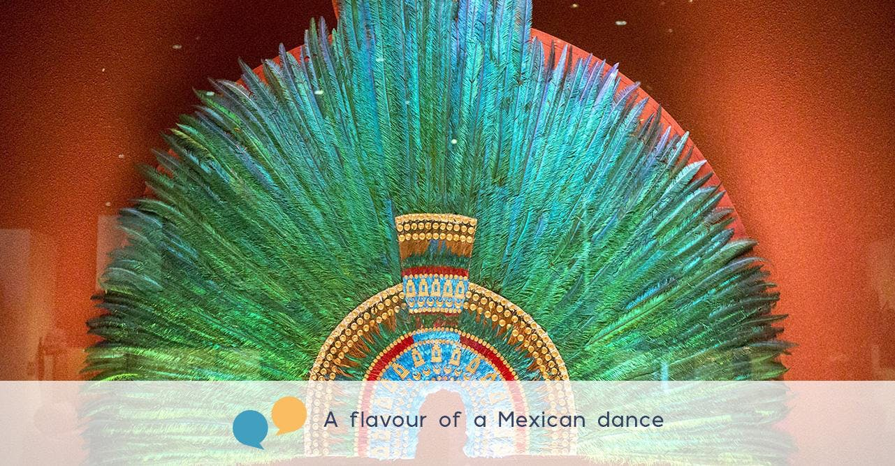 A flavour of a Mexican dance