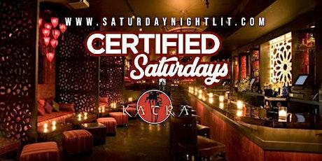 Certified Saturdays I Free Admission I Open Bar I Hookah #saturdaynightlit tickets