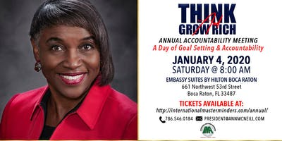 IMA Think and Grow Rich Annual Accountability Meeting 2020
