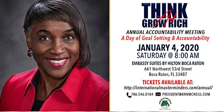 IMA Think and Grow Rich Annual Accountability Meeting 2020 tickets