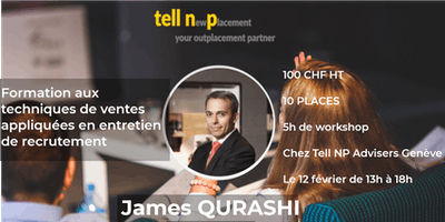 Workshop Février : Techniques de ventes appliquées à l\