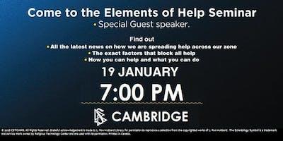 Elements of Help Seminar