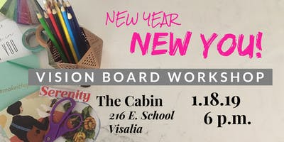 New Year, NEW YOU! Vision Board Workshop