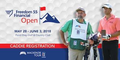 2019 Freedom 55 Financial Open Caddie Registration