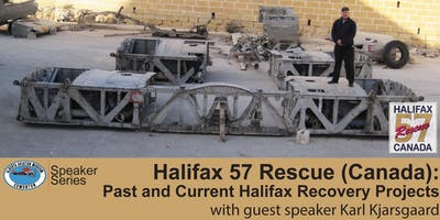 Halifax 57 Rescue (Canada): Past and Current Halifax Recovery Projects