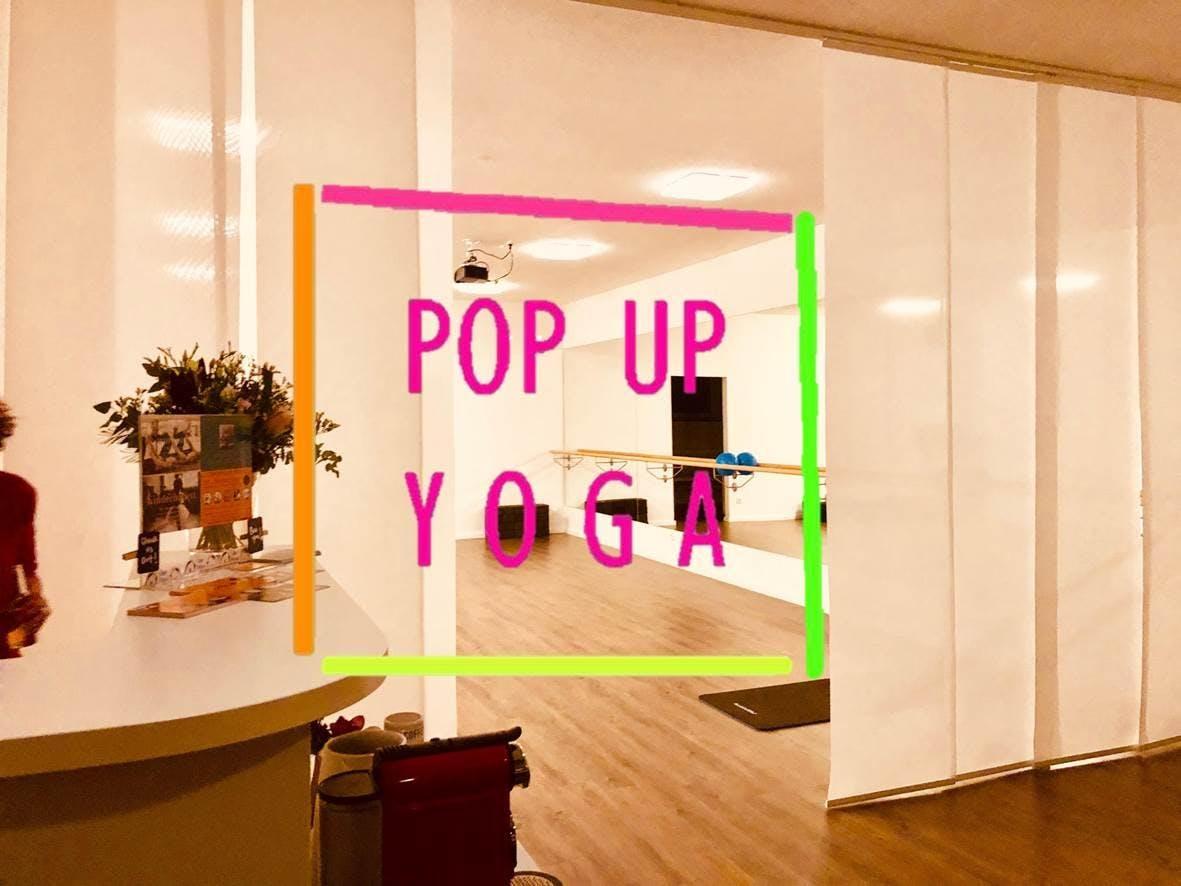 POP UP YOGA im Munich Collective