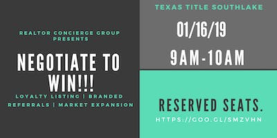 "Texas Title-Coffee and Knowledge Hour-""Negotiate to Win"""