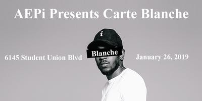 AEPi Presents: Carte Blanche 2019