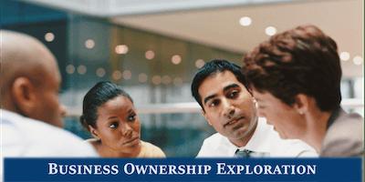 Business Ownership Exploration Seminar