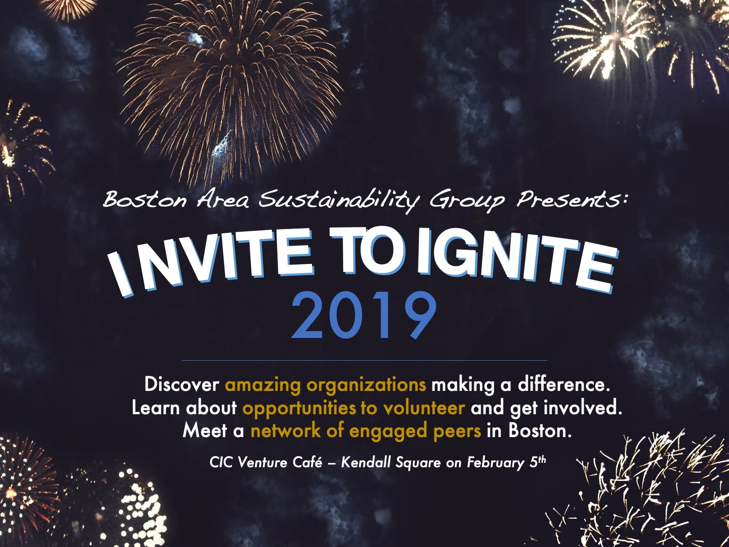 3rd Annual INVITE TO IGNITE