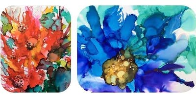 Painting Workshop: Alcohol Inks