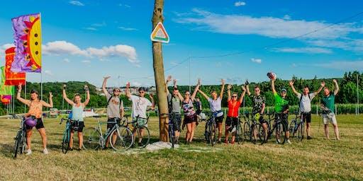 Big Bristol to Boomtown Bike ride