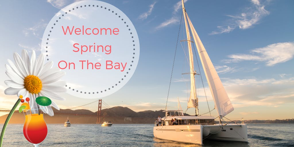 Welcome Spring On A Catamaran Cruise, With Co