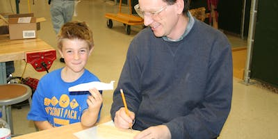 Build Your Pinewood Derby Car (January)